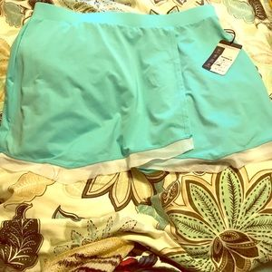 FINAL PRICE! 2 for $45 Tail LG Athletic Aqua Skirt